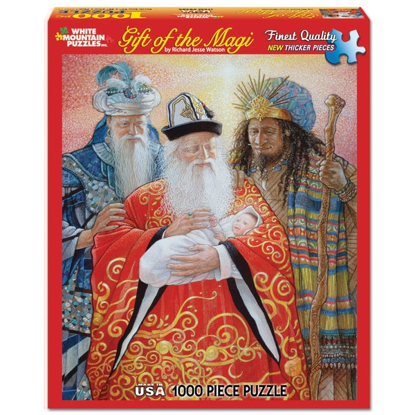 White Mountain Puzzles Gift of the Magi 1000 Piece Jigsaw Puzzle