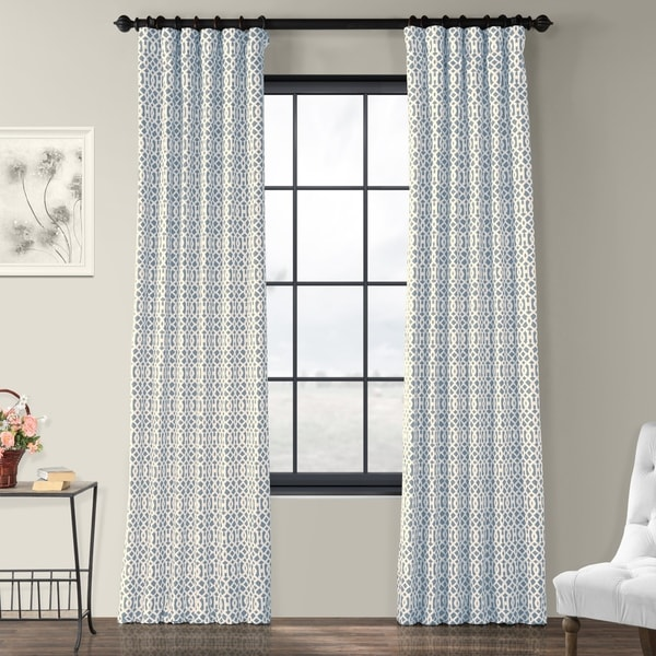 Window Privacy Curtain Rod Pocket Panels