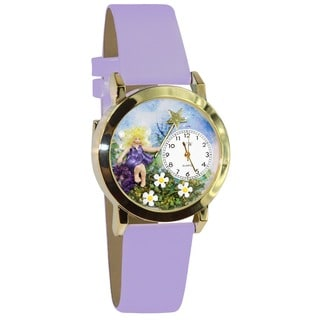 Fairy Lavender Leather Watch
