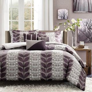 Madison Park Dahlia Polyester 7-piece Comforter Set