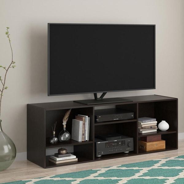 ... combo photo · altra nash 60 inch espresso bookcase tv stand ... - Tv Stand Bookcase