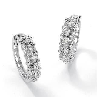 1/10 TCW Ice Diamond Hoop Earrings in Platinum over .925 Sterling Silver|https://ak1.ostkcdn.com/images/products/7954428/P15327011.jpg?impolicy=medium