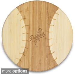 MLB National League 'Homerun!' Bamboo Round Cutting Board