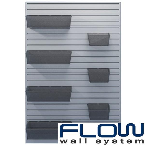 Flow Wall 7-Piece Hard Bin Starter Set