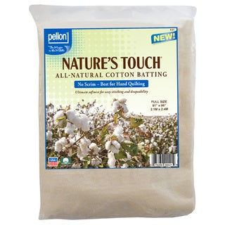 Pellon Full-size Natures Touch 81 x 96-inch Non-scrim Natural Cotton Batting