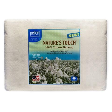 Pellon King-size Natures Touch 120 x 120-inch Non-scrim Natural Cotton Batting