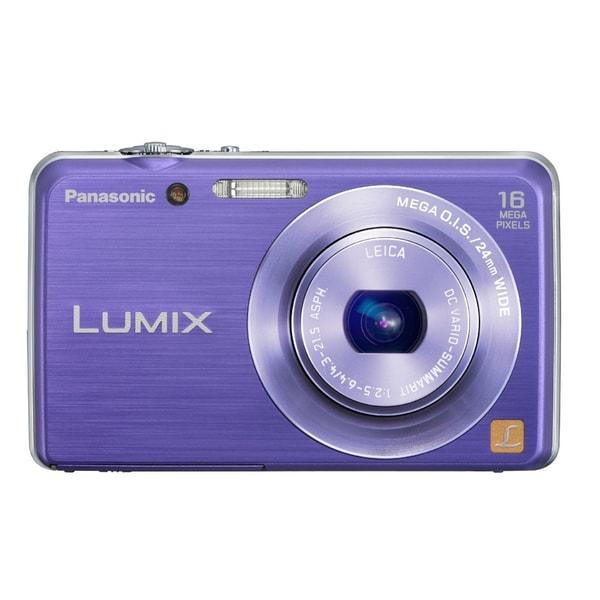 Panasonic Lumix DMC-FH8 16.1 Megapixel Compact Camera - Violet
