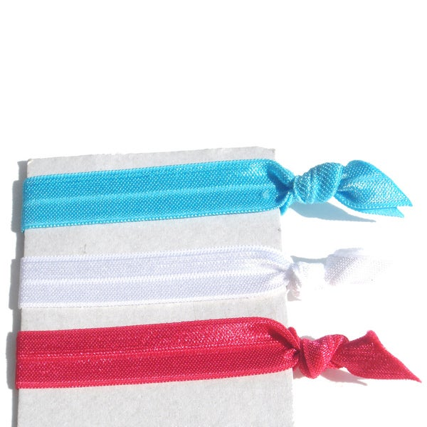 Ponytail 3-Piece Hair Tie Set