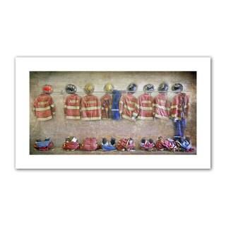 Antonio Raggio 'Auburn Fire Department' Unwrapped Canvas - Multi
