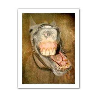 Antonio Raggio 'Laughing Horse' Unwrapped Canvas
