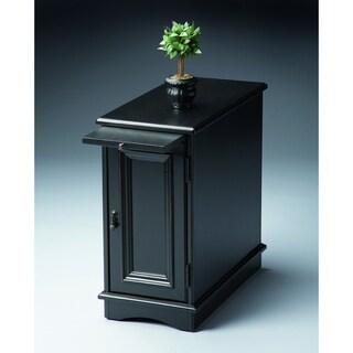Butler Transitional Black Licorice Fininsh Rectangular Chairside Chest - Black