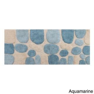 """Chesapeake Pebbles Bath Rug Runner (24"""" x 60"""") - 24"""" x 60"""""""