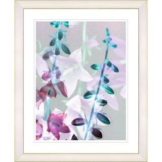 Studio Works Modern 'Bells from Tucapel - Turquoise' Framed Print