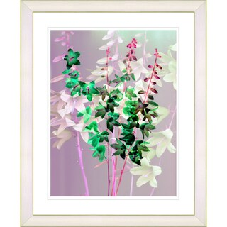 Studio Works Modern 'Bells from Tucapel - Green' Framed Print