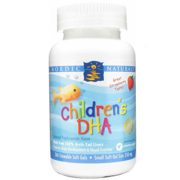 Nordic Naturals Children's DHA Soft Gels (360 Count)