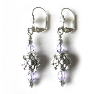 'Tiara' Dangle Earrings