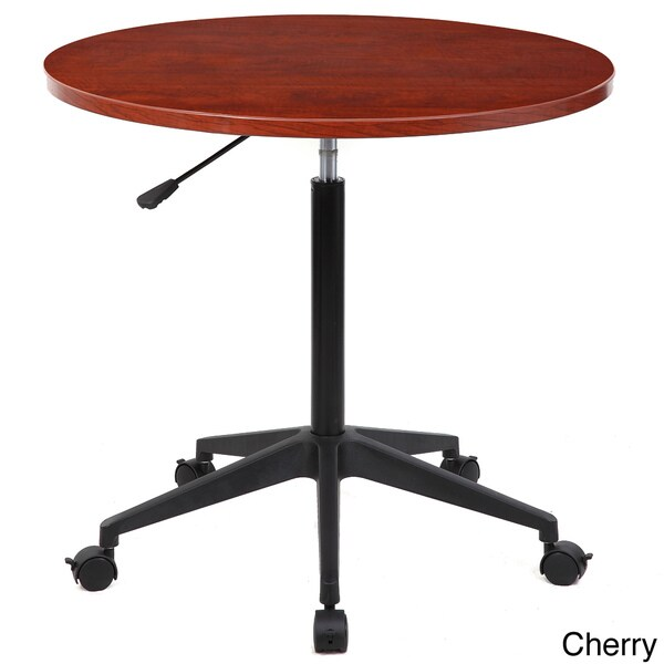 Boss 30 Inch Mobile Round Table Free Shipping Today