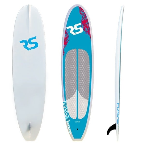 Blue Cruiser 10'6 Stand-up Paddle Board SUP by RAVE Sports