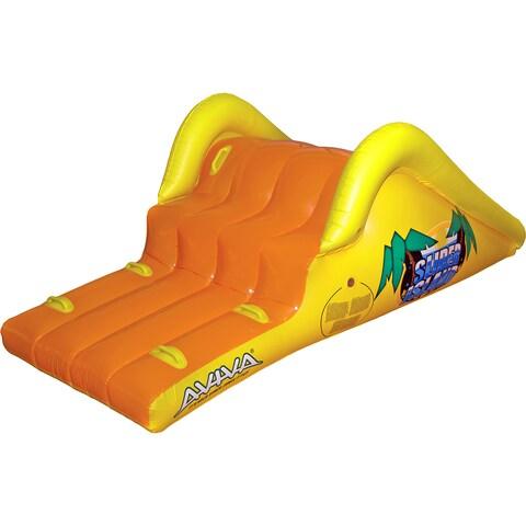 Aviva by RAVE Sports Slick Slider Island Pool Water Slide - Orange