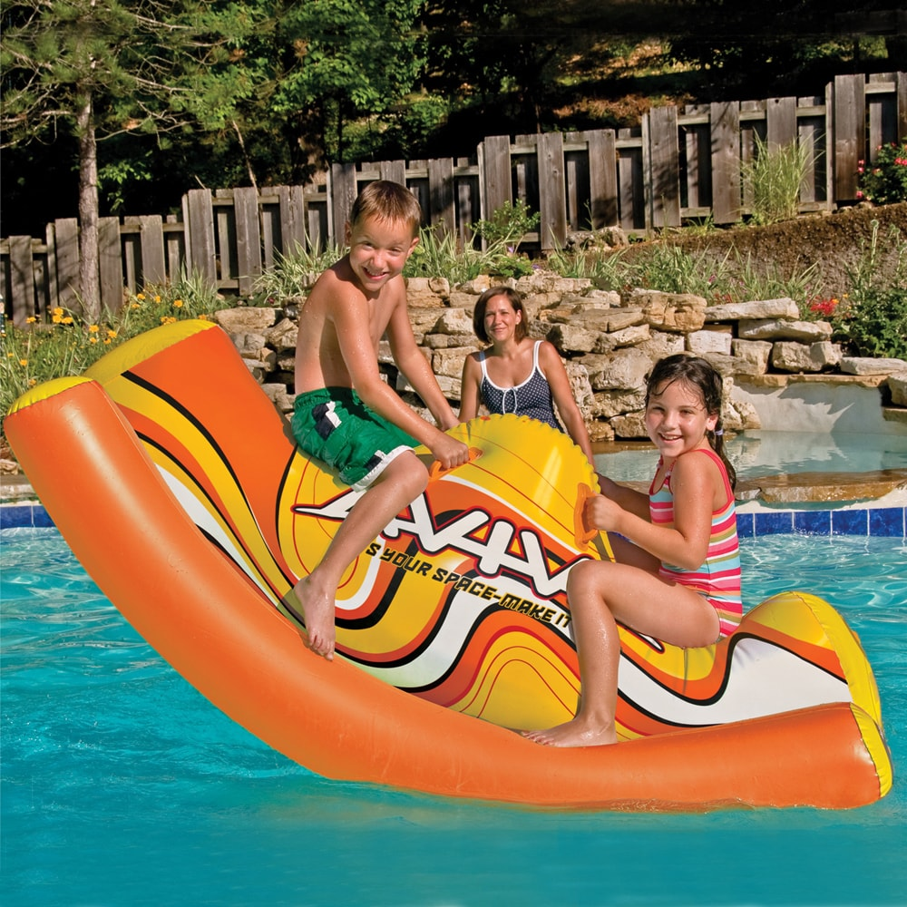 Aviva by Rave Sports Water Totter Pool Toy (Water Totter)...
