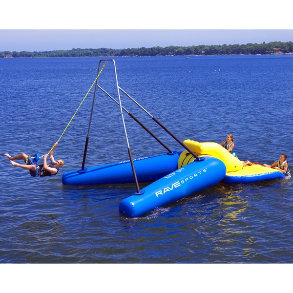 Rave Sports Freestanding Rope Swing Package