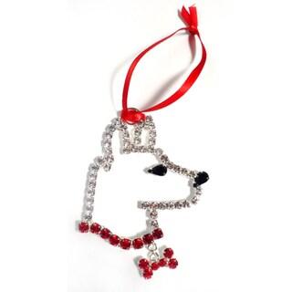 Buddy G's Austrian Crystal German Shepherd Ornament
