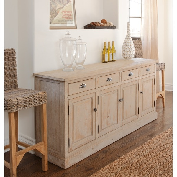 wilson reclaimed wood 79inch sideboard by kosas home