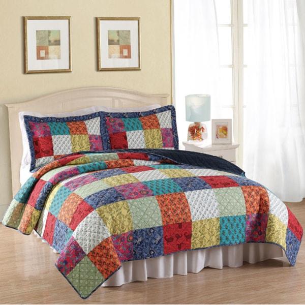 Halifax Cotton 3-piece Quilt Set