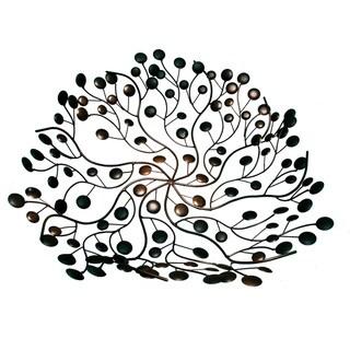 "Handmade Cut Copper Wire Bowl (Indonesia) - 24"" x 24"""