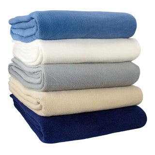 Alta Anti-pill Fleece Blanket (More options available)