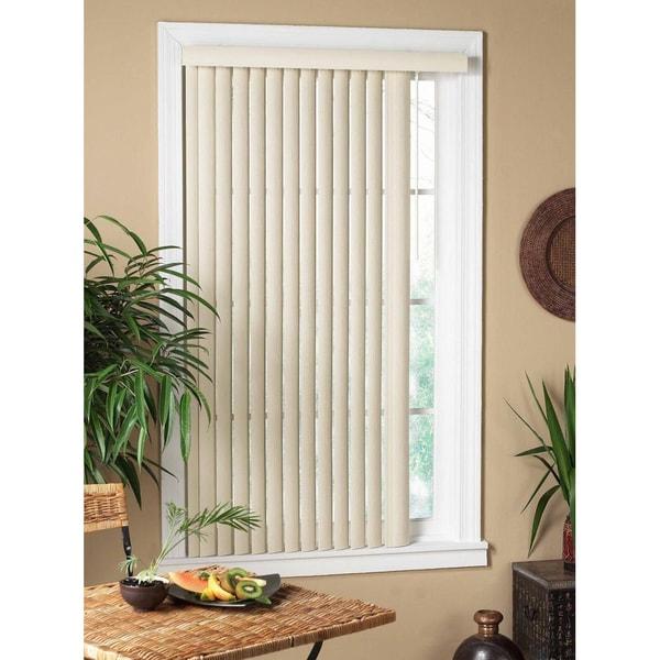 Vertical Alabaster Window Blind