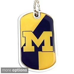 Aminco International NCAA Dynamic Dog Tag Necklace Charm Chain