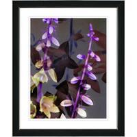 Studio Works Modern 'Bells from Tucapel - Purple' Framed Print