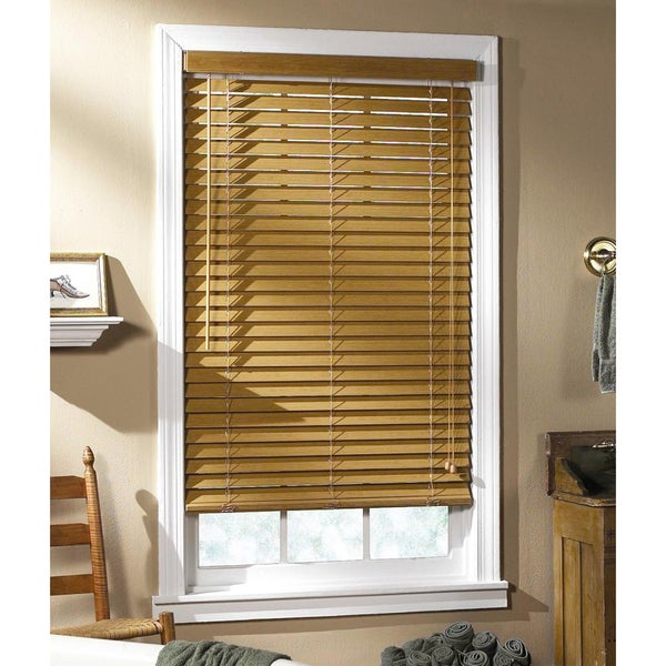 Regal Estate Light Oak Window Blind