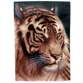 Tiger Face' Original Canvas Painting, Handmade in Indonesia