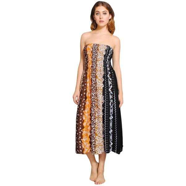 Spring Fling Tube Dress (Indonesia)