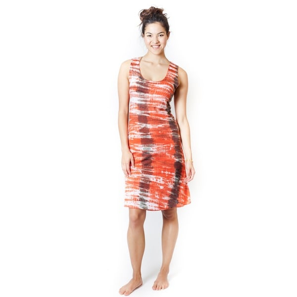 Handmade Spring Fever Tie Dye Dress (Indonesia)