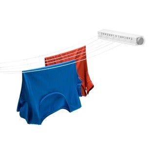 Honey-Can-Do DRY-01626 Extendable 6-line Clothesline