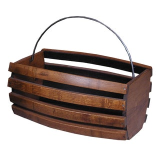 2-Day Designs Large Storage Wine Basket
