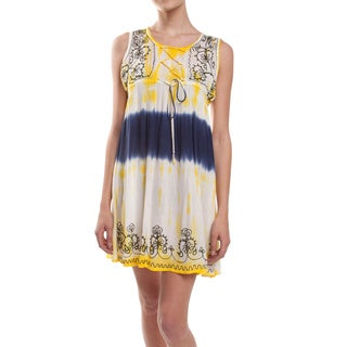 Tie-Dye Babydoll Rayon Dress (Nepal)