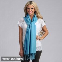 Women's Merino Wool Fringe-edge Scarf