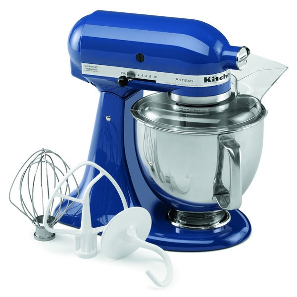 KitchenAid KSM150PSFB French Blue 5-quart Artisan Tilt-Head Stand Mixer