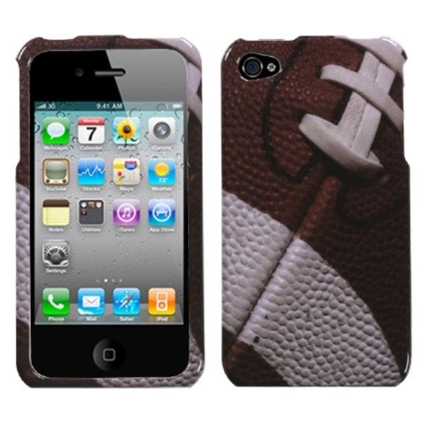 INSTEN Football-Sports Collection Phone Case Cover for Apple iPhone 4/ 4S