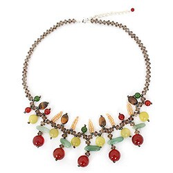 Handcrafted Multi-gemstone 'Lanna Splendor' Necklace (Thailand)