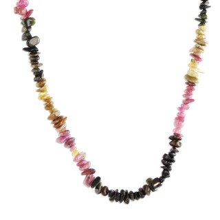 Handmade Tourmaline 'Carnival Queen' Necklace (Brazil)