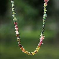 Tourmaline 'Carnival Queen' Necklace (Brazil)