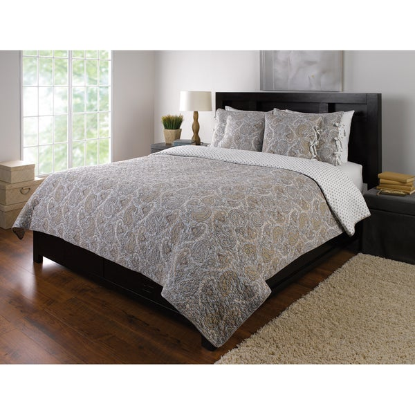 Shop Moroccan Zen Light 3 Piece Quilt Set Free Shipping Today