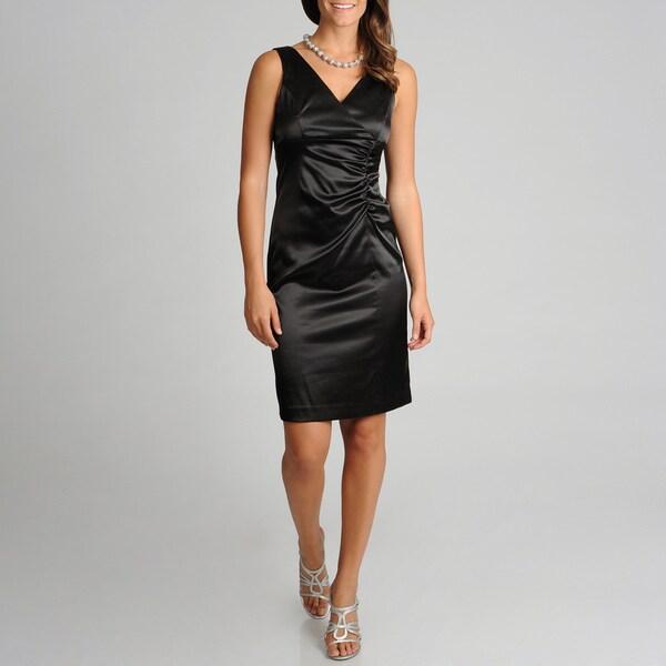 Betsy & Adam Women's Little Black Dress