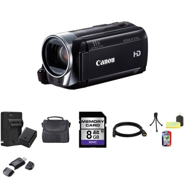 Canon VIXIA HF R300 Full HD Camcorder with 8GB Bundle