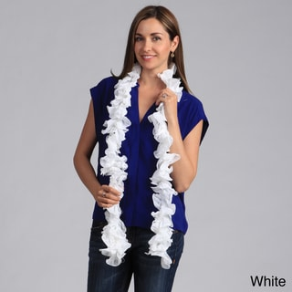 Saro Long Ruffled Scarf